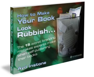How to make your book look rubbish